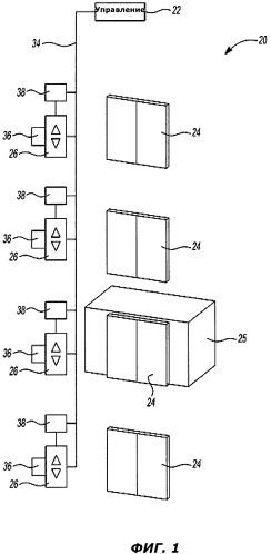 Автоматическая адресация установочных приспособлений лифта