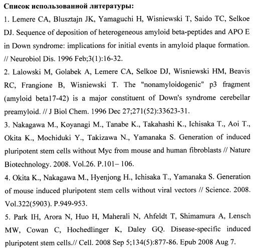 Способ получения индуцированных плюрипотентных стволовых клеток пациентов с синдромом дауна