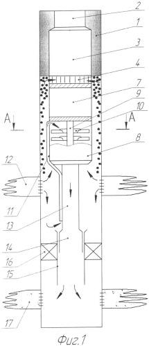 Установка электроцентробежного насоса для добычи нефти и закачки воды в пласт