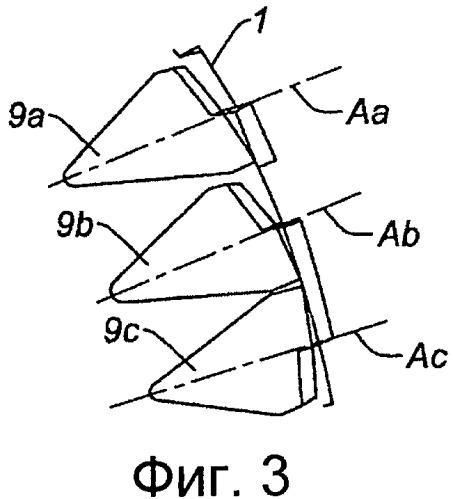 Задняя кромка для двигателя летательного аппарата, оснащенная подвижными шевронными элементами, и гондола летательного аппарата, снабженная такой задней кромкой
