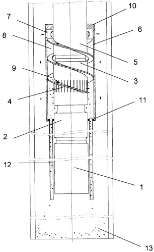 Скважинная насосная установка