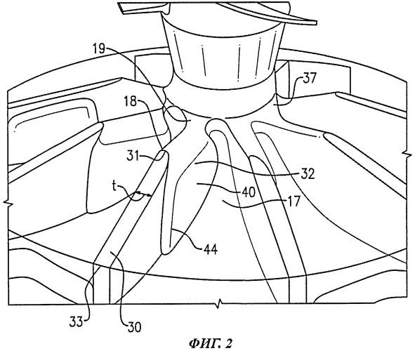 Рабочее колесо для центробежного насоса (варианты)