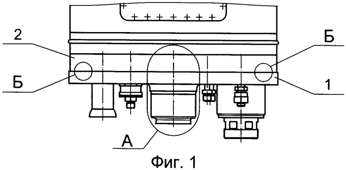 Устройство для соединения и разъединения трубопроводов бортового агрегата