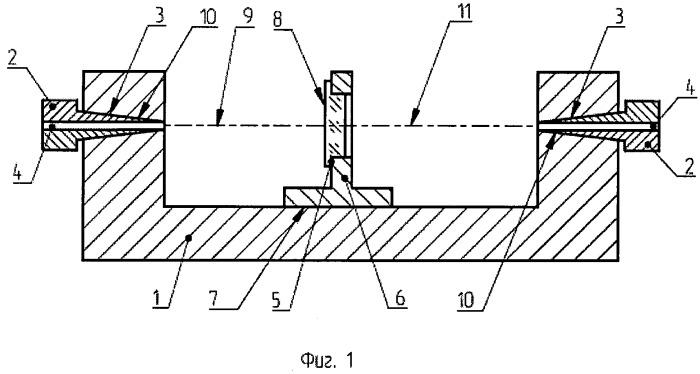 Лазерная система для контроля положения осей объекта