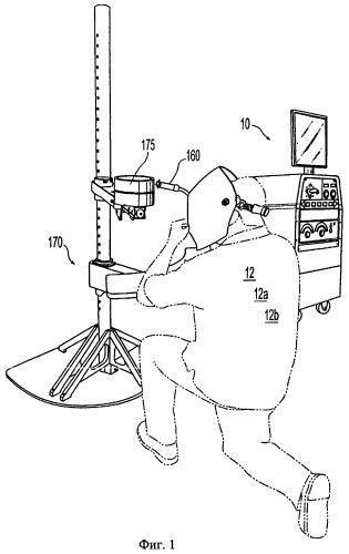 Имитатор сварки труб в виртуальной среде