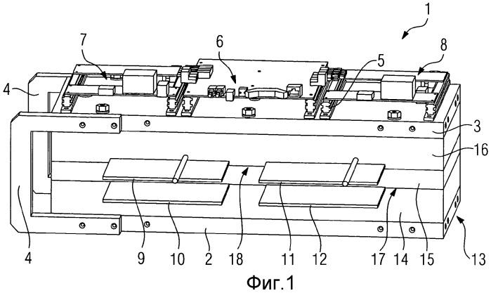 Силовой полупроводниковый модуль с боковыми стенками слоистой конструкции