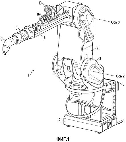 Лакировальный робот и способ его эксплуатации
