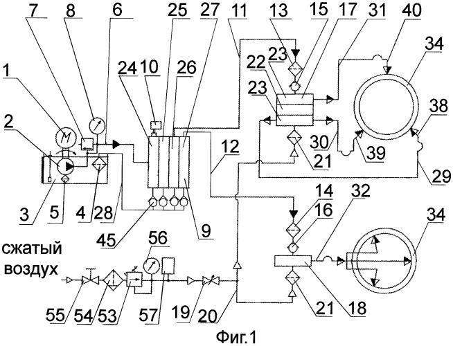 Способ смазки технологического инструмента для волочения профиля и труб и система смазки