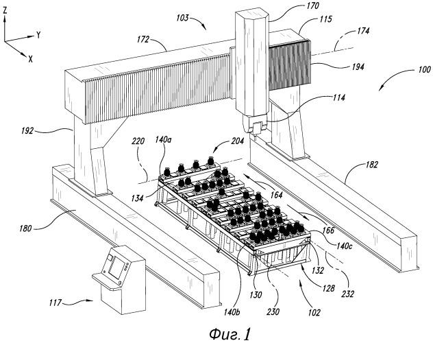Гибкая система держателей для механической обработки деталей