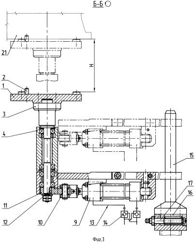 Поворотное устройство автоматической линии