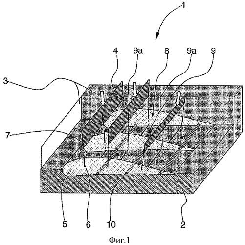 Способ получения цельной детали из волокнистого композита