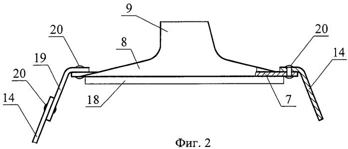 Устройство крепления подшипникового узла к раме тележки