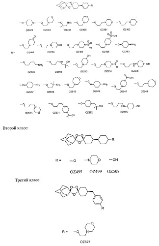 Диспиро 1,2,4-триоксоланы как противомалярийные средства