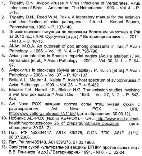 Аттенуированный штамм кэм-7 вируса оспы кур fowlpox virus для изготовления препаратов специфической профилактики и диагностики оспы птиц
