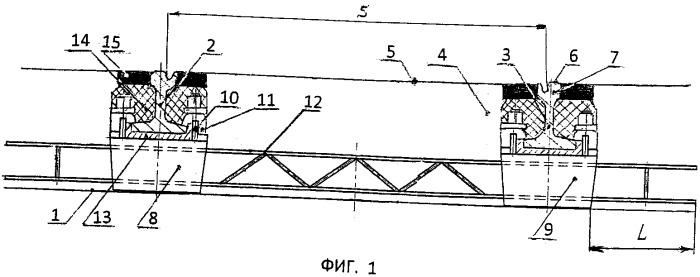 Трамвайный путь на бетонном основании