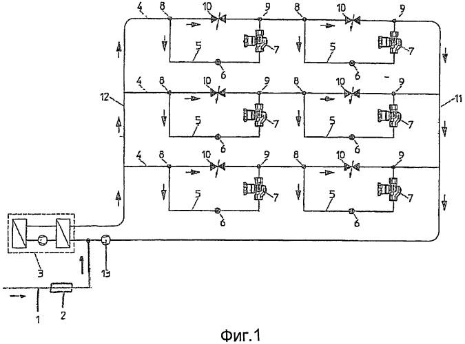 Система питьевой или технической воды