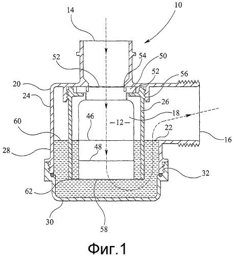 Водопроводное уплотненное устройство