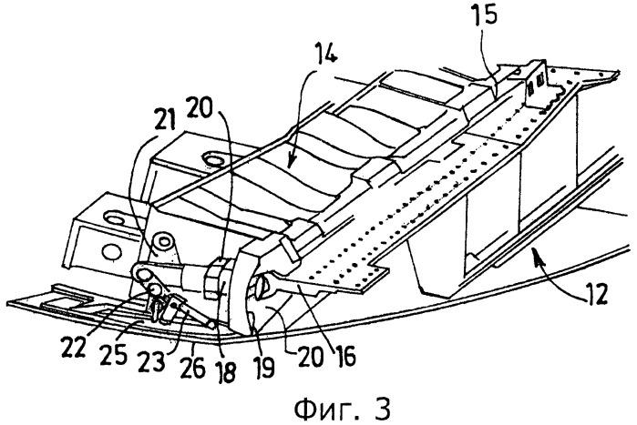 Гондола турбореактивного двигателя, снабженная механической системой блокировки реверсора тяги