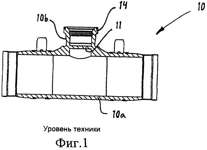 Тройник с пробкой, предназначенный для горячей врезки