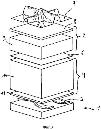 Клеевое соединение изоляционных блоков резервуара для хранения сжиженного газа с использованием волнистых валиков