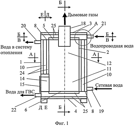 Теплоэлектрический генератор для автономного энергоснабжения