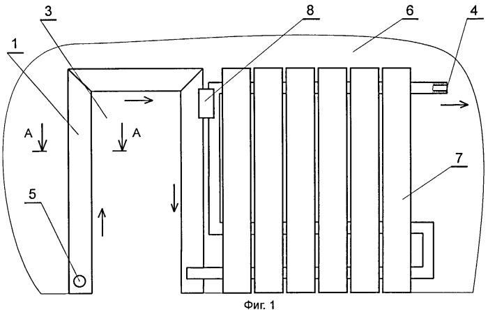 Способ изготовления теплообменника металлического системы отопления помещения