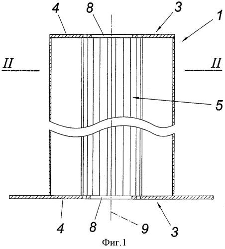 Теплообменник отжигательной печи для теплообмена между двумя текучими средами