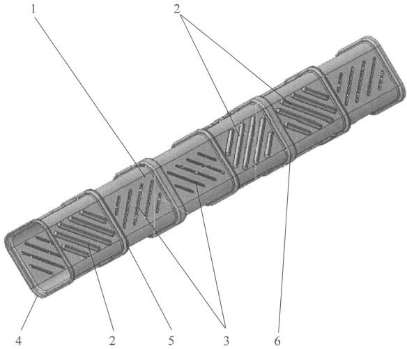 Полимерная труба оросителя градирни