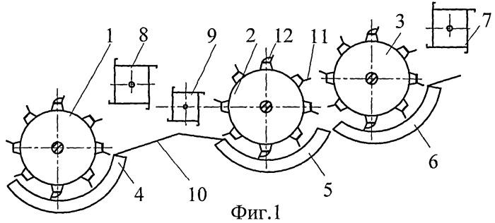 Молотильно-сепарирующее устройство (варианты)