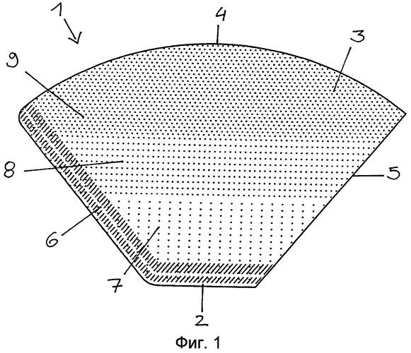 Фильтрующий элемент в виде кулька, изготовленный из фильтровальной бумаги
