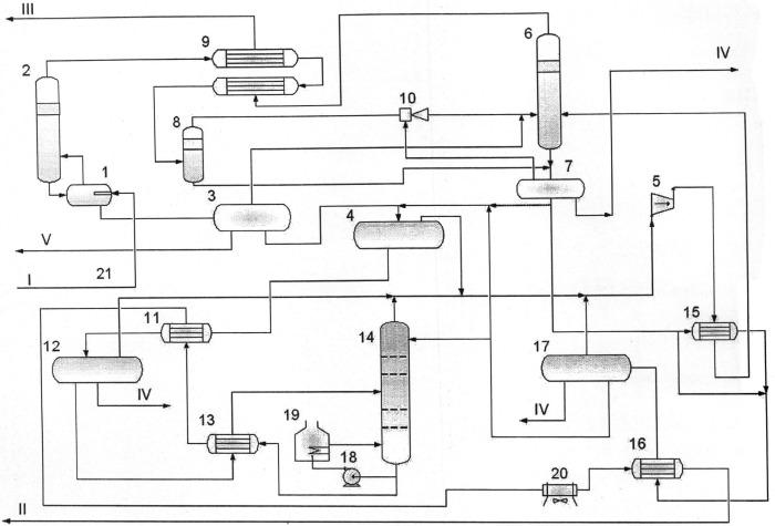 Способ промысловой подготовки продукции газоконденсатных залежей с использованием в качестве хладагента нестабильного газового конденсата и установка для его осуществления