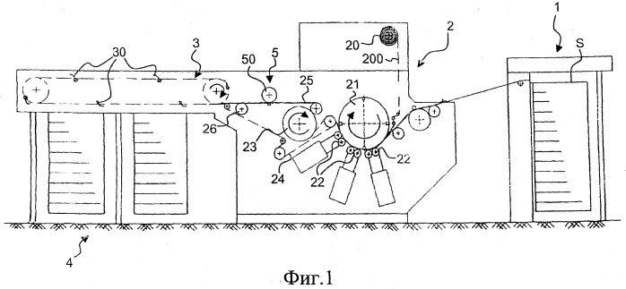 Способ и установка нанесения пленочного материала на последовательность листов