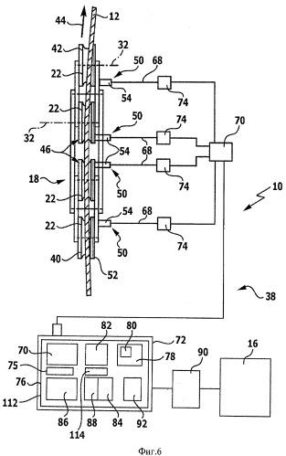 Система контроля износа, транспортная установка с канатным приводом и способ контроля быстроизнашивающихся деталей такой транспортной установки