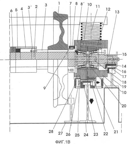 Тележка с поворотными осями для изменяемой колеи и стационарная установка для смены колеи рельсового пути