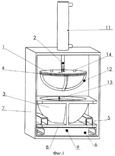 Устройство для сжатия горячего шлака цветного металла