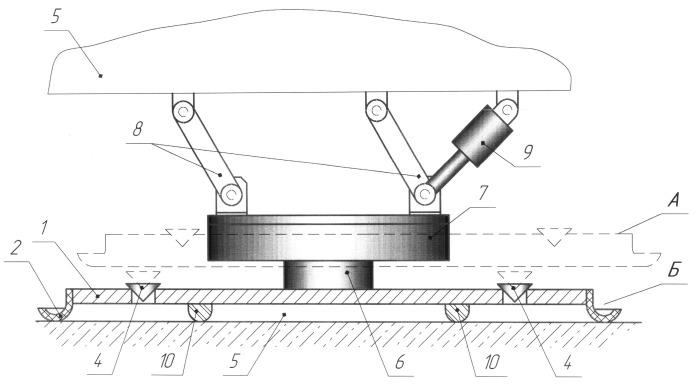 Подвесная вакуумная камера для дорожного катка