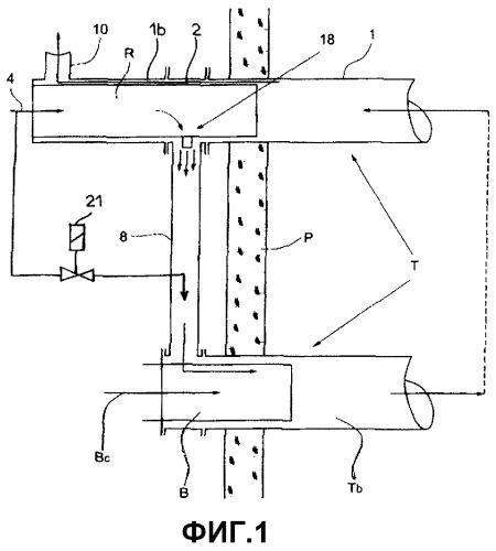 Рекуператор для радиационной трубчатой горелки