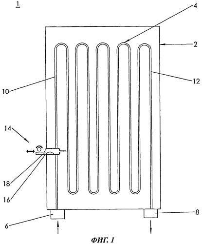 Электрический нагревательный блок для проточного нагревателя