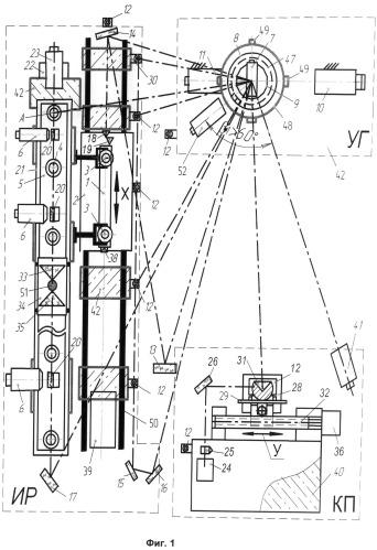 Поверочный комплекс координатных приборов и измерительных систем