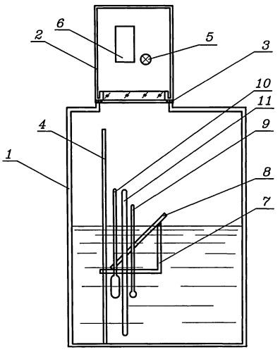 Способ определения массы жидкости в резервуаре