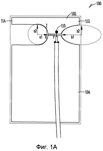 Многопротокольная антенна и способ синтеза диаграммы направленности такой антенны