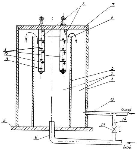 Электродный нагреватель жидкости