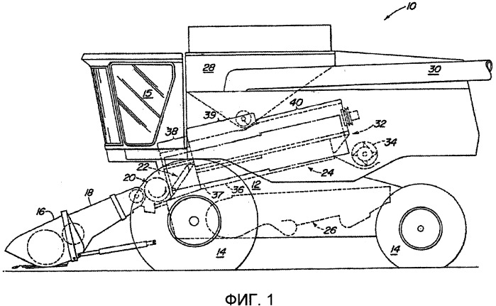 Верхняя крышка для аксиально-роторного комбайна с конической передачей