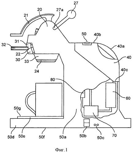 Устройство для приготовления напитка, содержащее регулируемый механизм закрывания