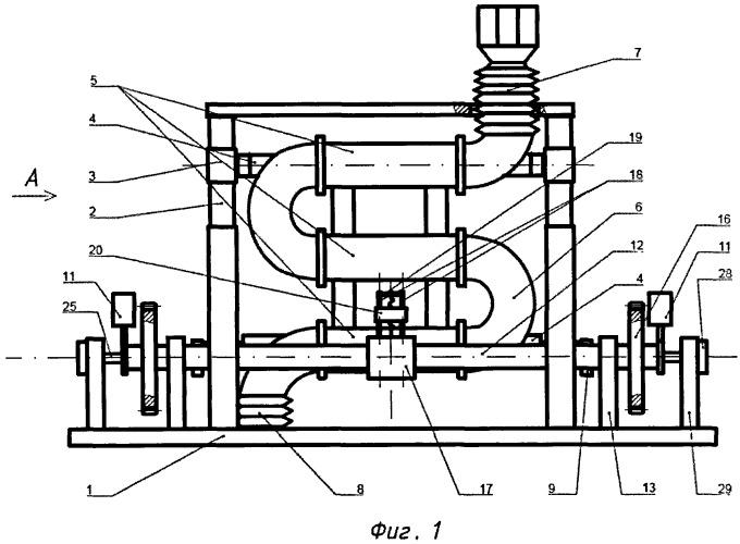 Помольно-смесительный агрегат с автоматической балансировкой