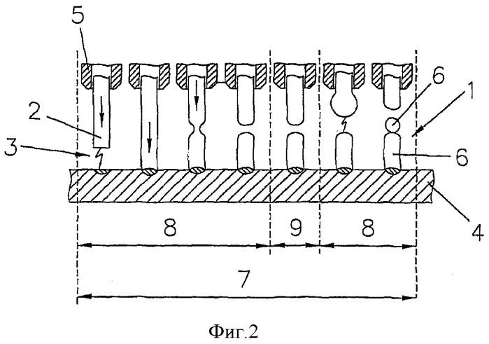 Способ изготовления структуры на поверхности металлической детали