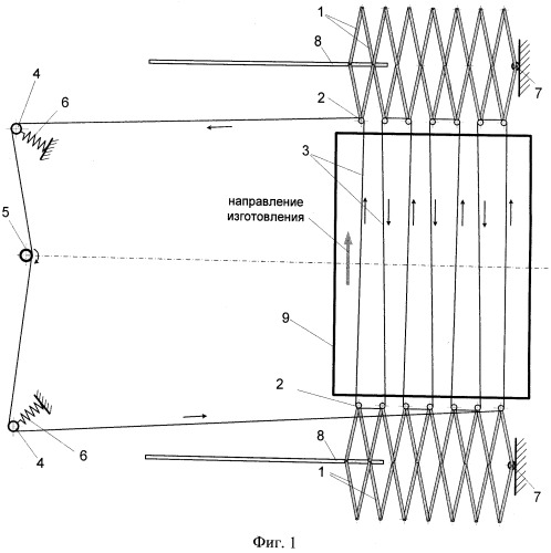 Устройство для ориентации древесных частиц