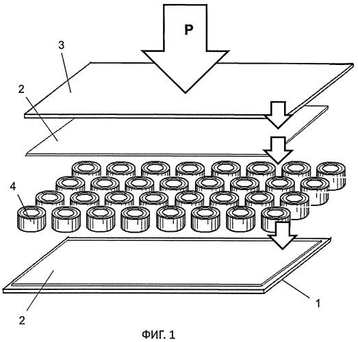 Способ изготовления композитного слоистого материала (варианты)