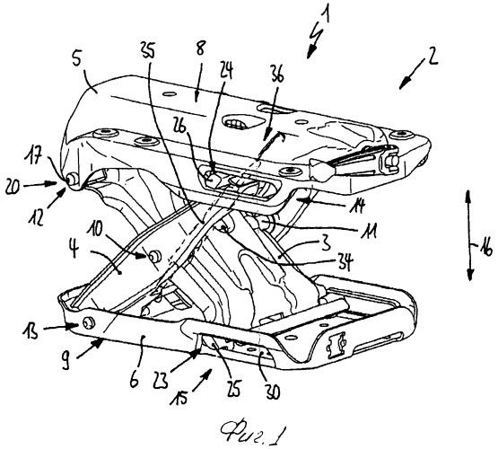 Шарнирная рама сиденья транспортного средства, сиденье транспортного средства, в частности сиденье моторного транспортного средства, и способ изготовления узла сиденья транспортного средства