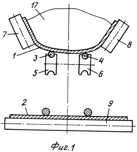 Ленточно-канатный конвейер с промежуточными приводами